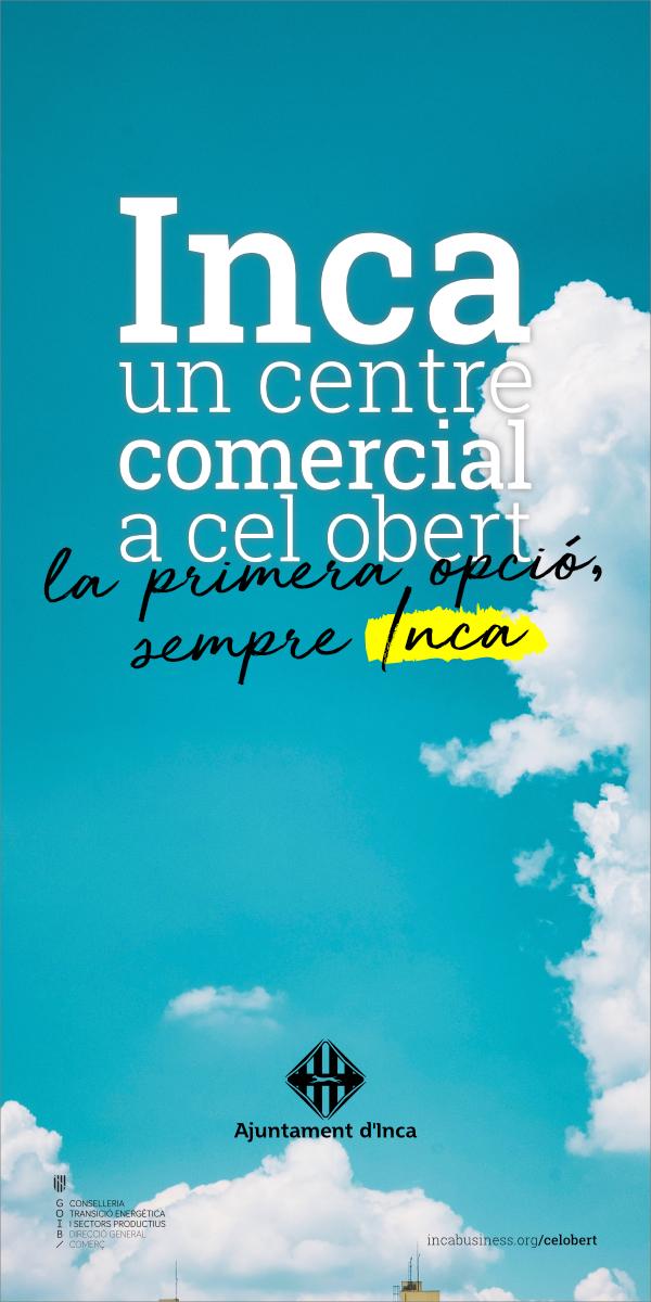 Inca, un centre comercial a cel obert