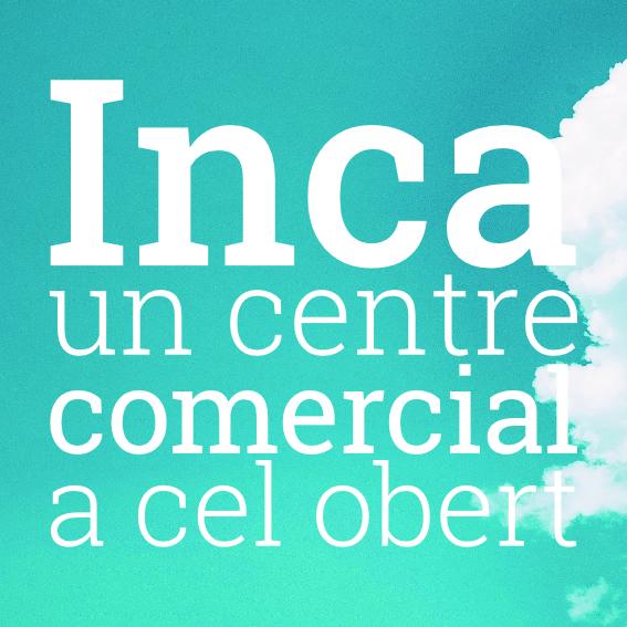 Inca, centre comercial a cel obert